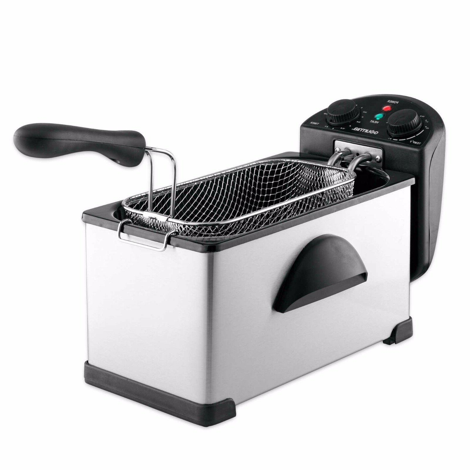 compact 3 25 quart stainless steel maximesh