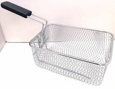 compact deep fryer basket