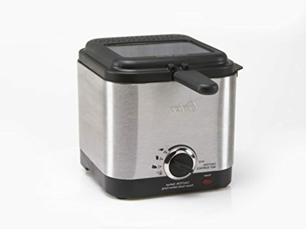Oster Style Compact Fryer, Stainless