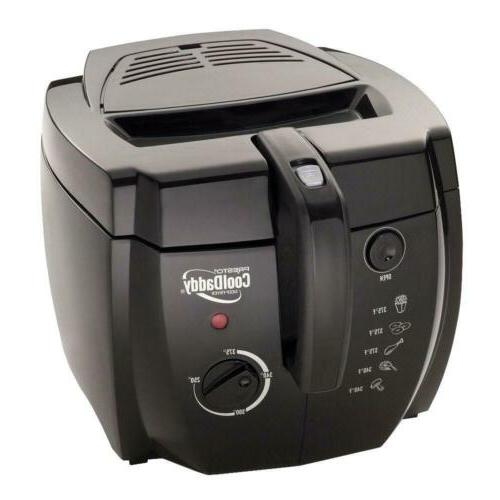 cooldaddy cool touch deep fryer