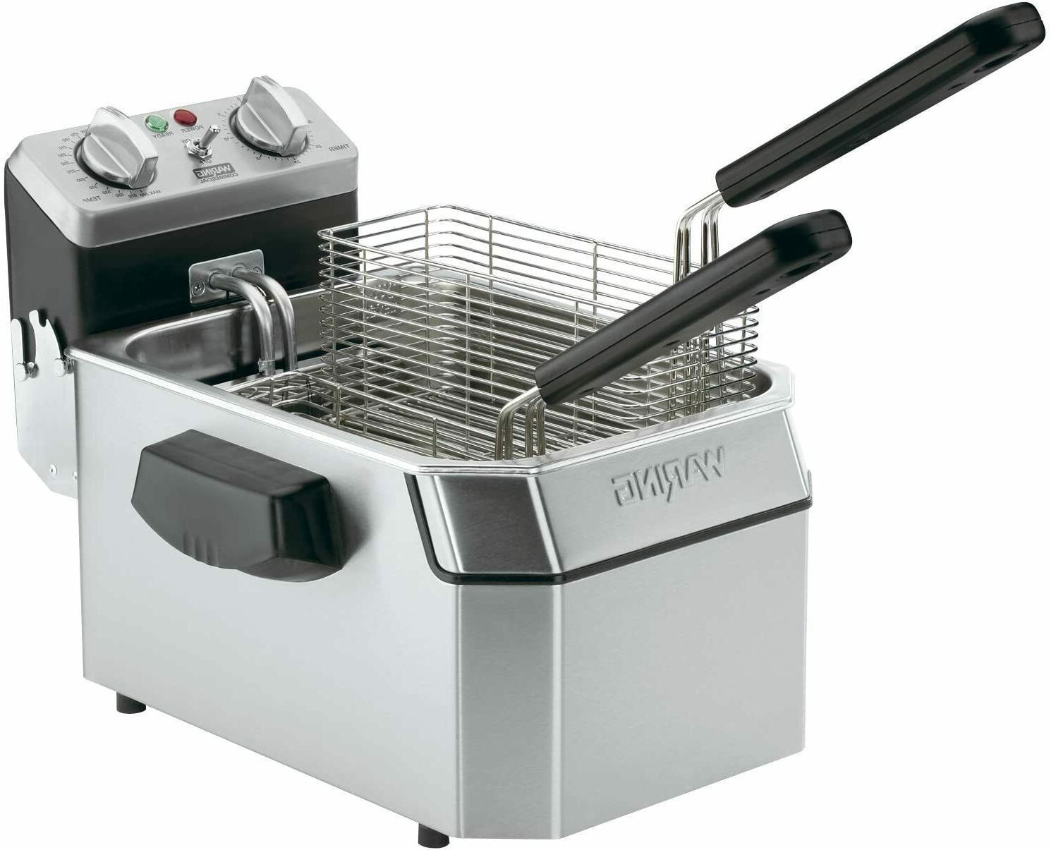countertop electric commercial deep fryer