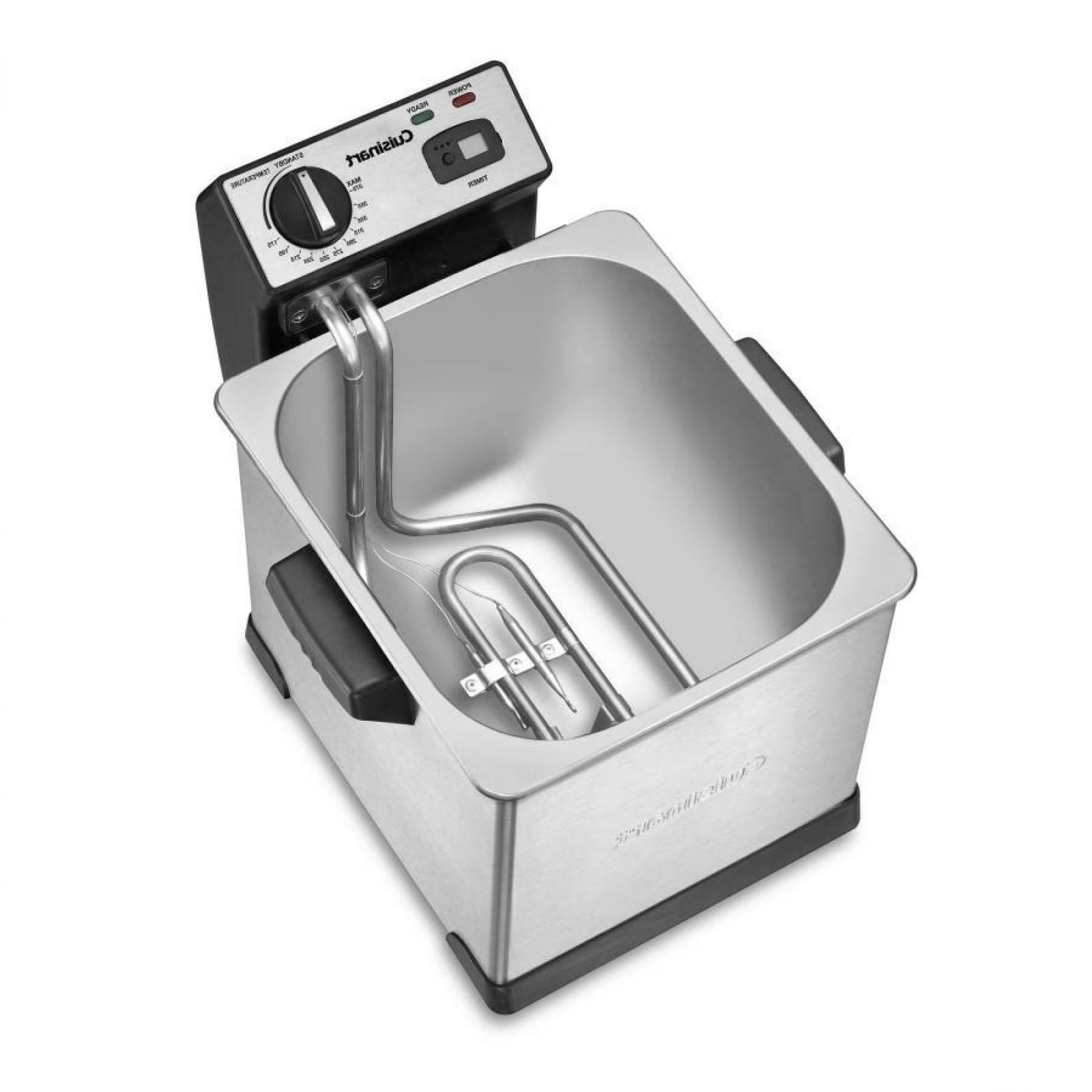 Cuisinart Specialty Appliances Digital Deep Fryer 1800W Imme