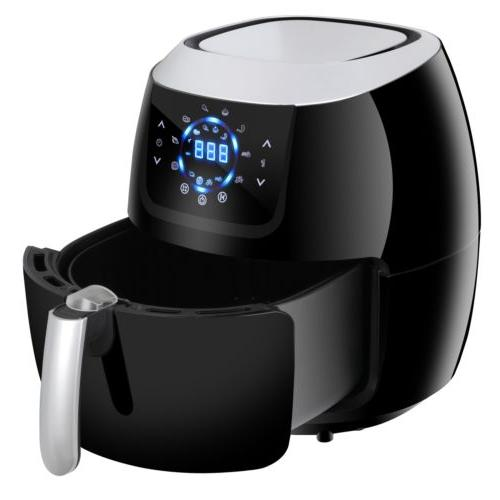 Deep Fryer Electric Digital Air Fryer Temperature Control To