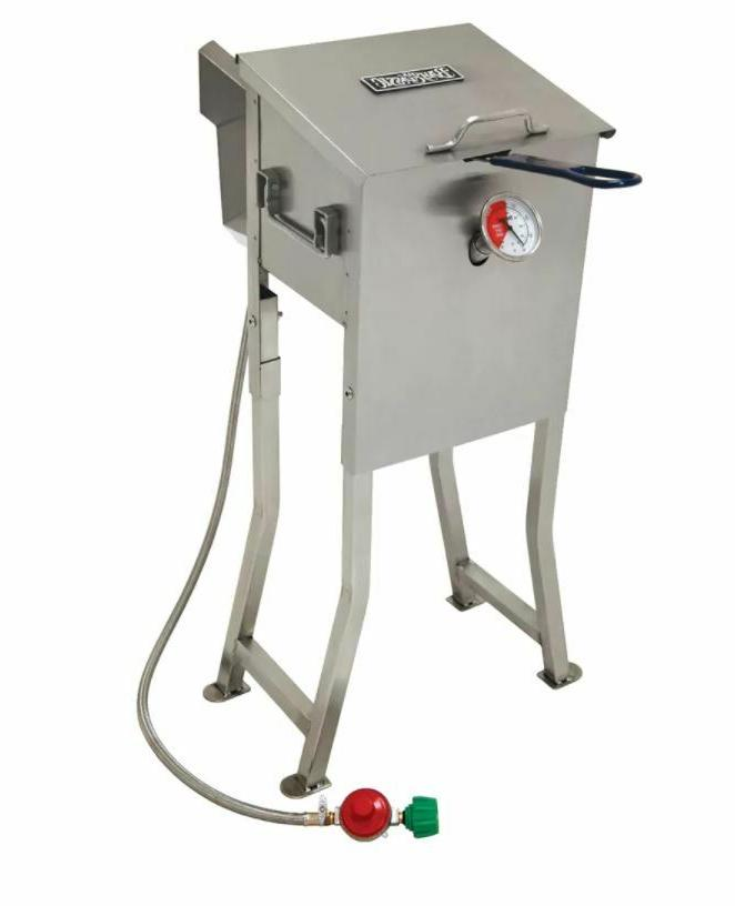 deep fryer stainless steel 2 5 gallon