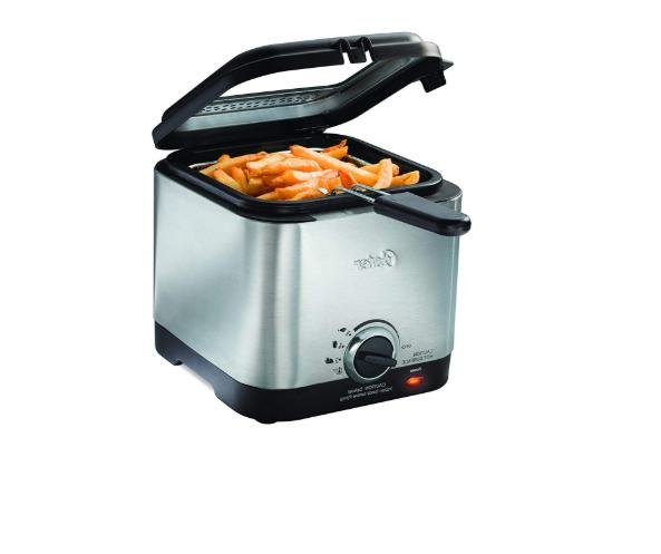 Oster Steel Compact Small Electric Home Food