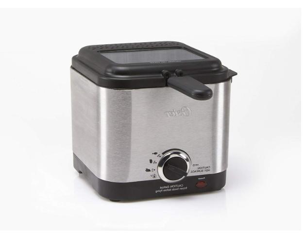 Oster Fryer Stainless Steel Small Mini Electric Home Kitchen