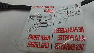 Delonghi Power Cord Deep Fryer D14522DZ D14427DZ D14527DZ D34528DZ