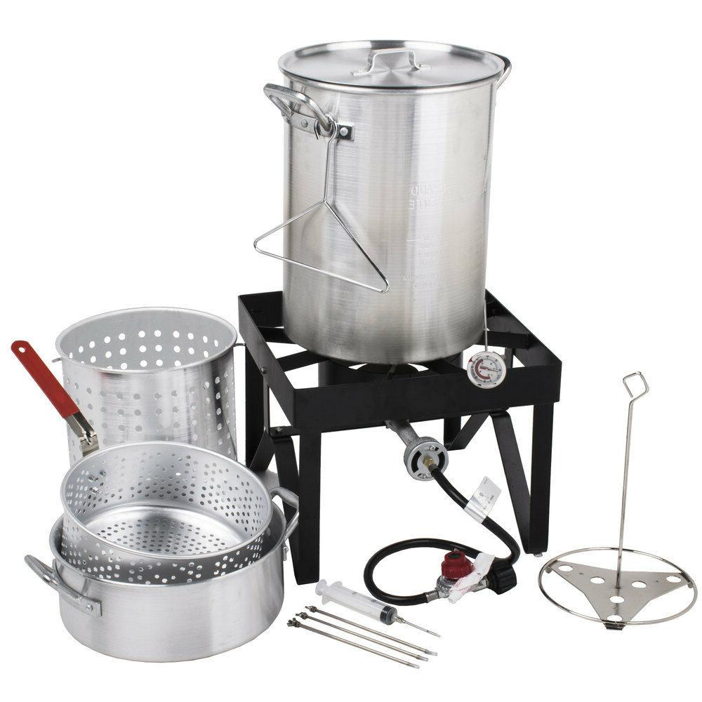 Backyard Pro Deluxe Aluminum Kit / Steamer Kit 554BP30ALKIT