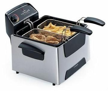 BRAND NEW Presto Dual ProFry 05466 Deep Fryer