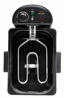 T-fal Pro Enamel Immersion Deep Fryer Kitchen Appliance,