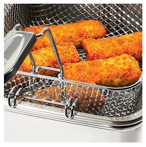 All-Clad 7211002979 EJ814051 3.5 L Easy Clean Deep-Fryer, Silver,