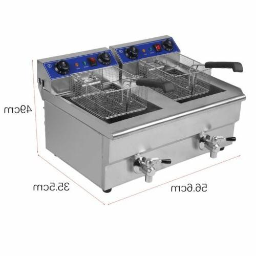 Electric Countertop 3300W 26 Liter Commercial