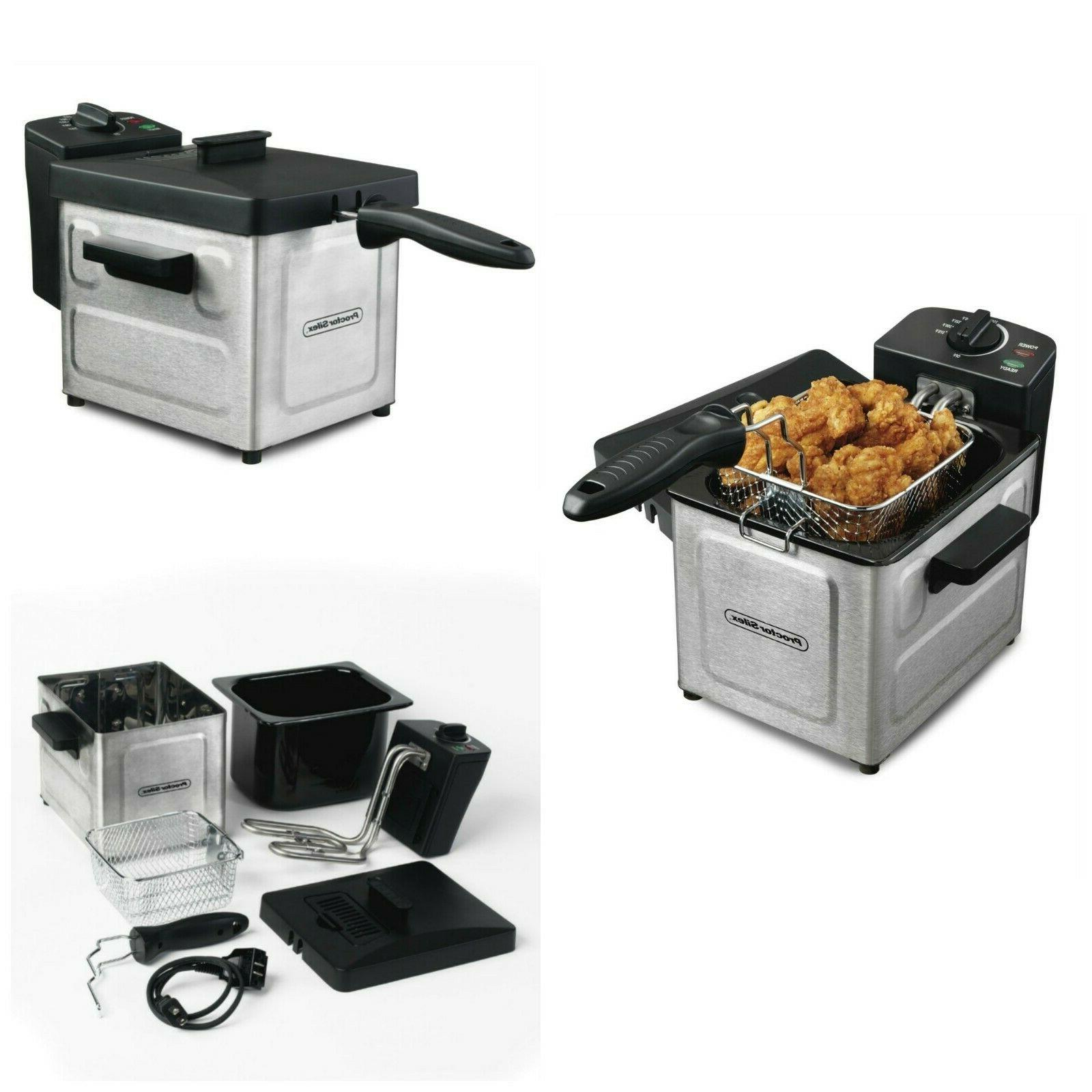 Electric Countertop Deep Fryer Commercial Stainless Steel Ki