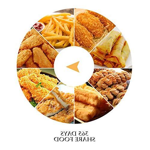 Electric Deep Fryer, Capacity Tabletop Frying Basket Cafe Shops, Household more