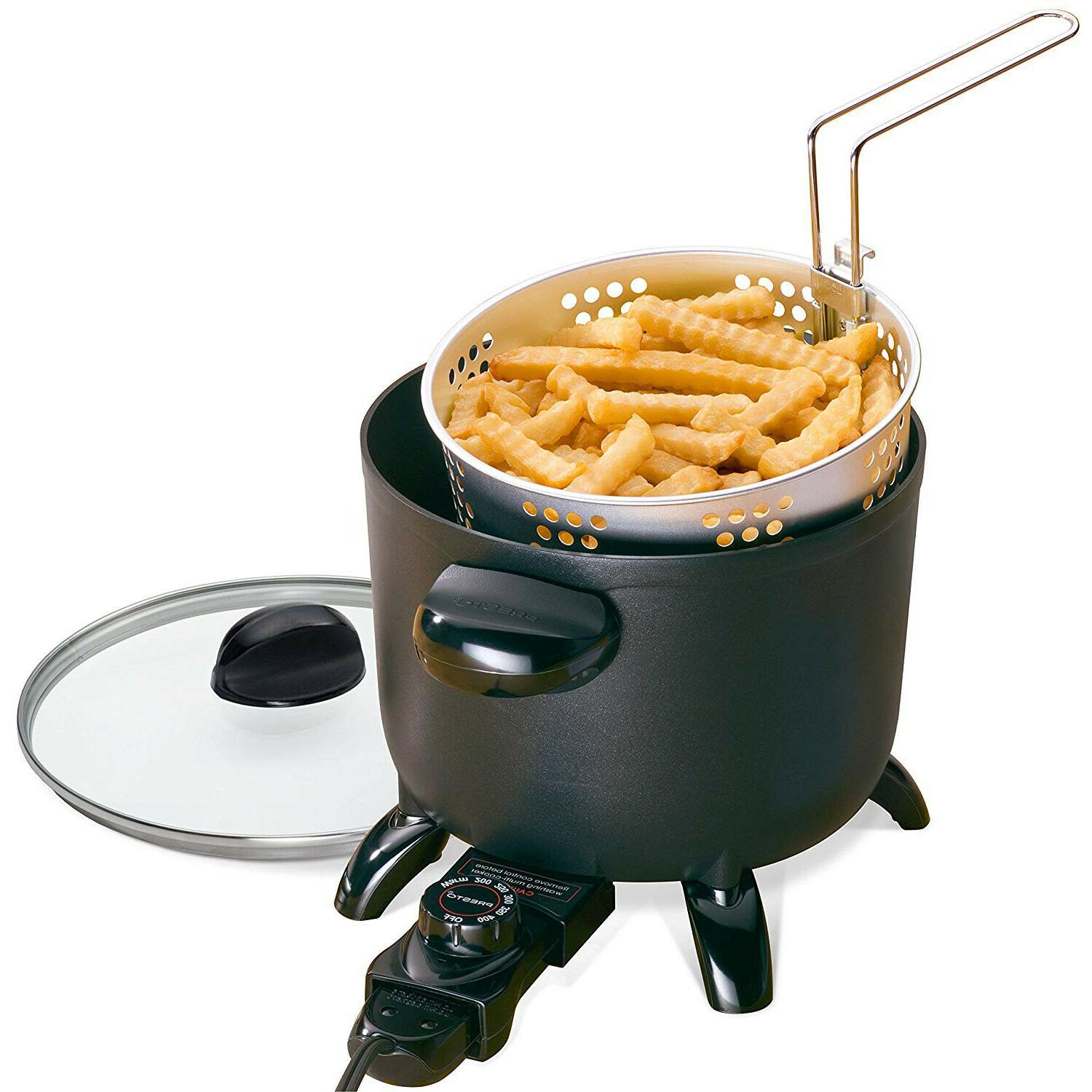 Electric Fryer Home Restaurant Kitchen Cooker Steamer