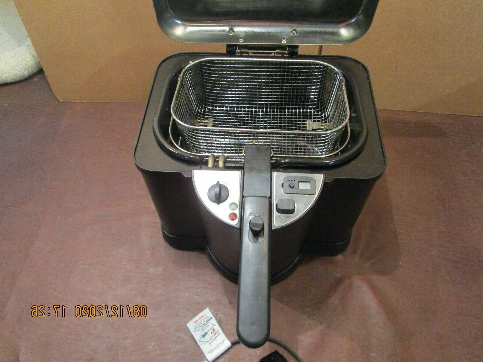 electric deep fryer model czf 725
