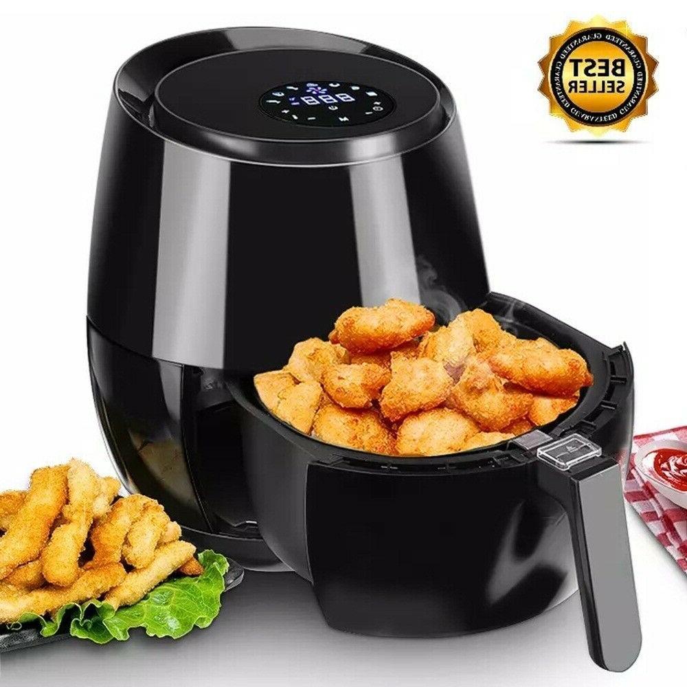 Electric Deep Fryer No Oil Air Fryer 3.6L LCD Touch Screen T