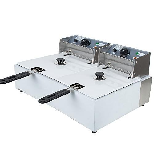 electric dual tanks stainless steel