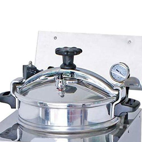 16L Electric Pressure Fryer, Commercial Pressure Fryer Machine w/Timer & 50-200℃ Commercial Snack Bars