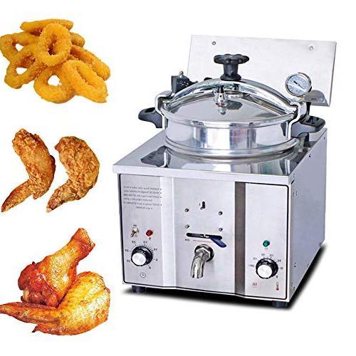 electric pressure deep fryer