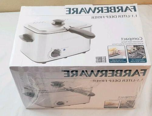 Electric Small Farberware Stainless Fried Food New