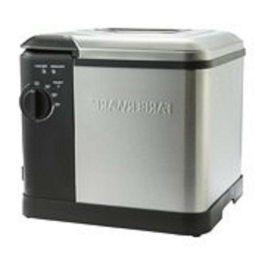 extra large capacity deep fryer cooks up