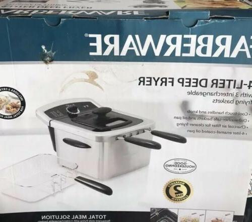faberware 4 liter deep fryer