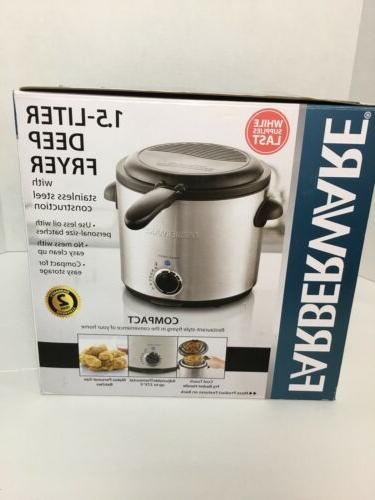 farberware 1 5 liter stainless steel deep