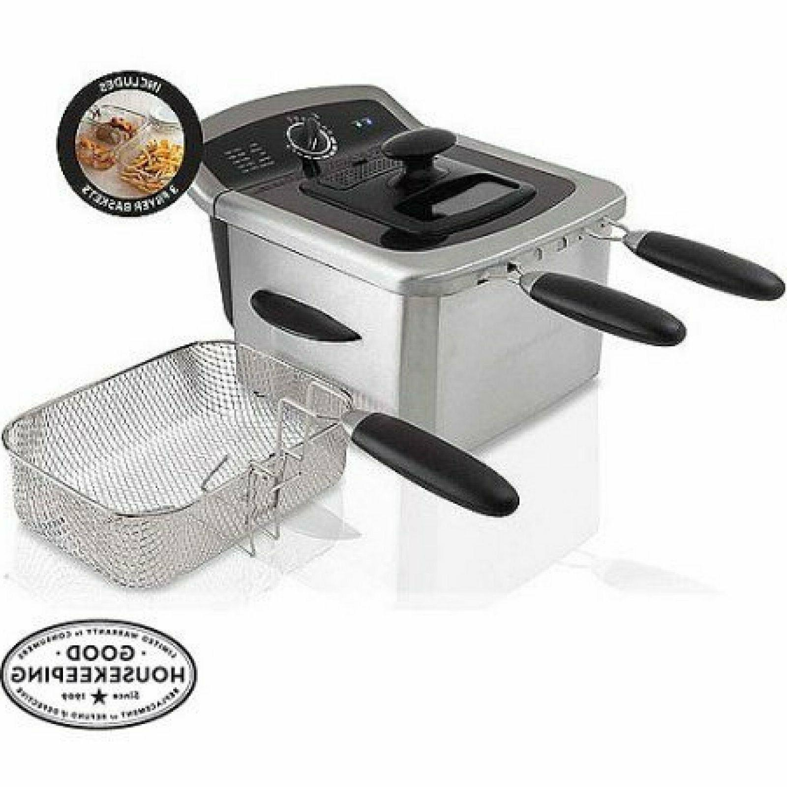 Farberware 4L Deep Fryer Stainless Steel With Charcoal Air F