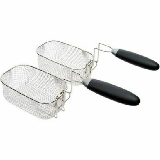 Farberware 4L Large Easy to Clean Fryer, Stainless