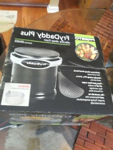 Presto Fry Daddy Electric Deep with Frying