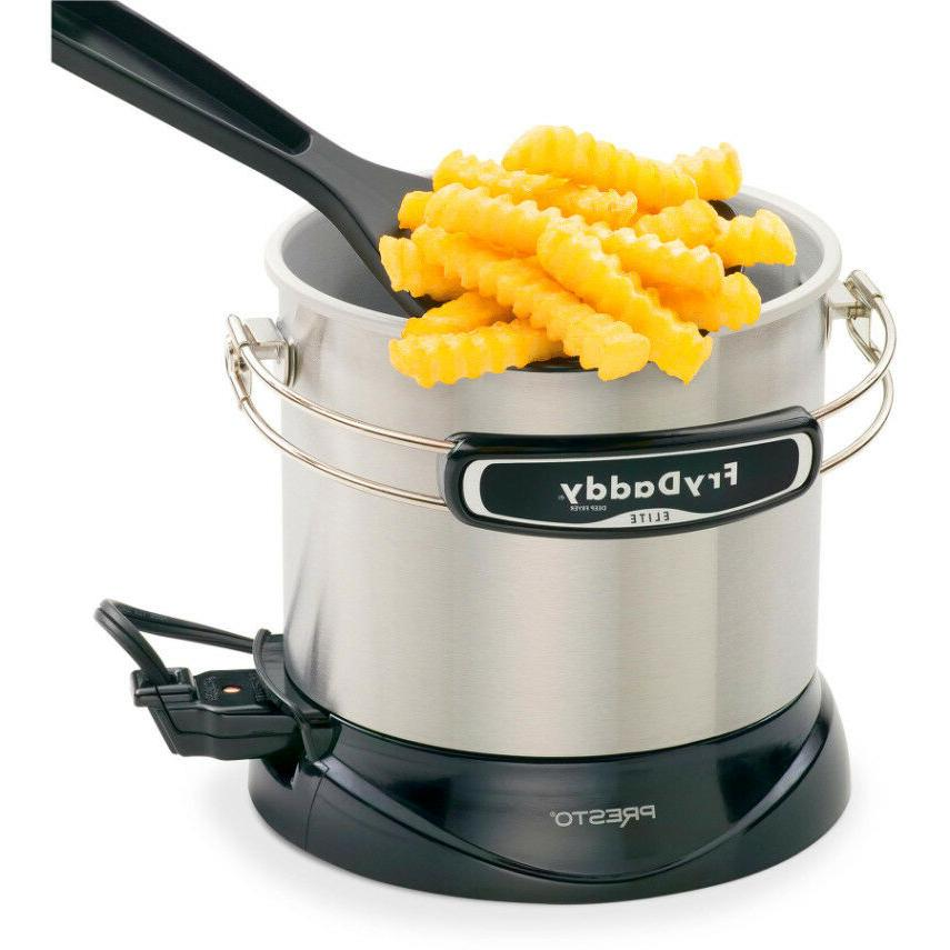 Presto FryDaddy Elite 4-Cup Electric Deep Fryer