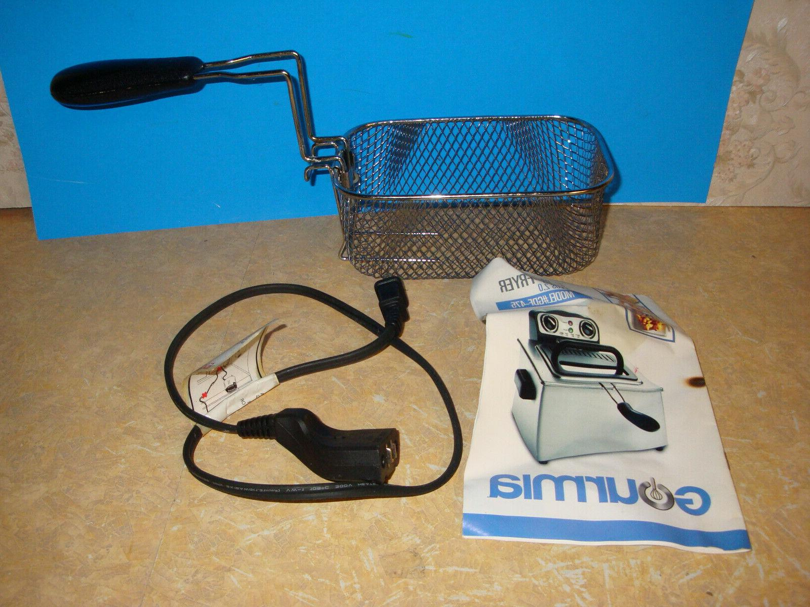 gdf 475 fry station deep fryer replacement