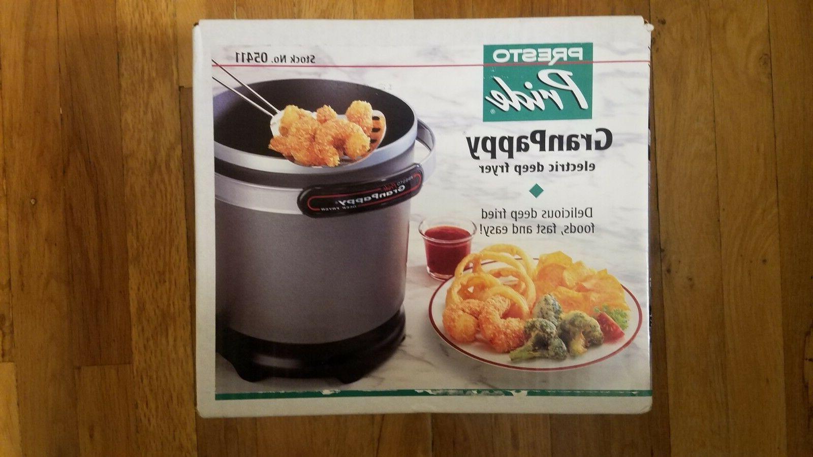 granpappy 05411 deep fryer