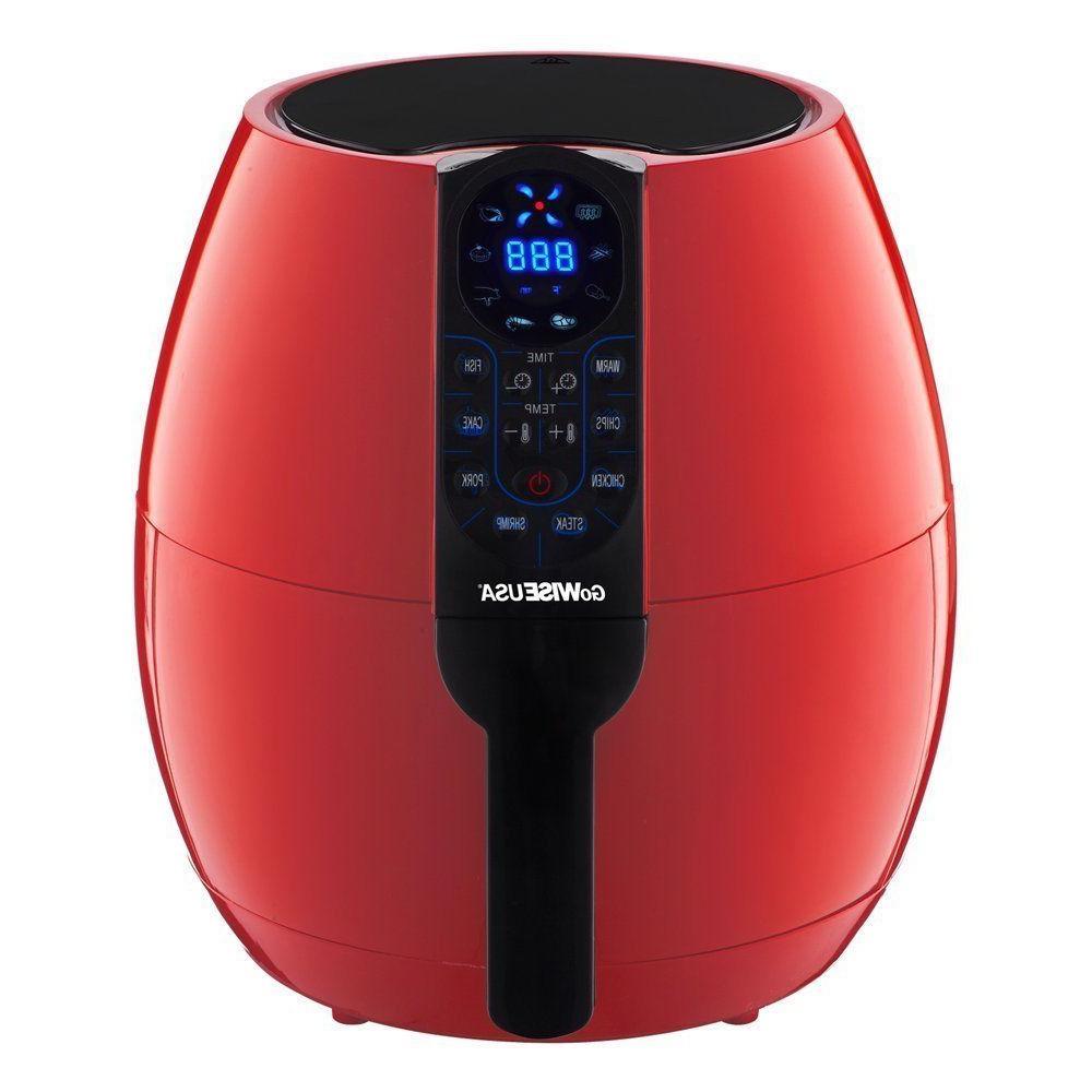GoWISE USA GW22639 8-in-1 Electric Air Fryer Digital 3.7 Qt