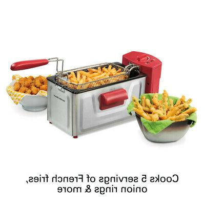 Professional-Style Electric Cooker Home Fries 2 L