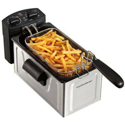Professional-Style Cooker Countertop Basket Fries 2 L