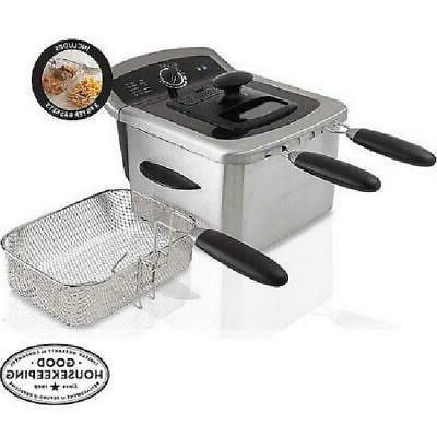 deep fryer 1 gal stainless steel cooker