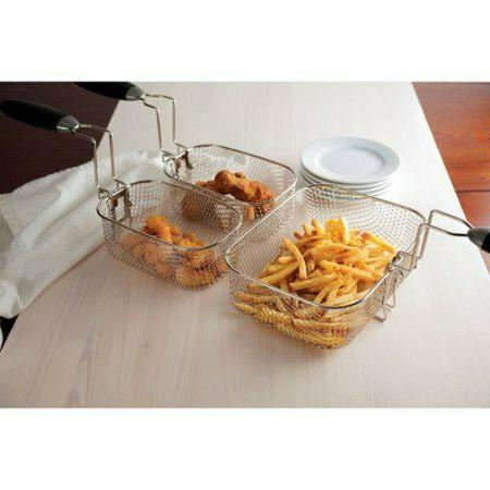 Electric Home Dual Fries Steel