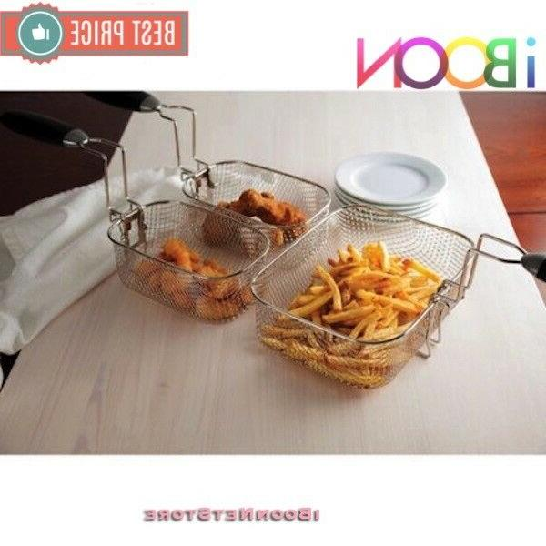 Farberware Home Fryer 4 L FAT Stainless Fries