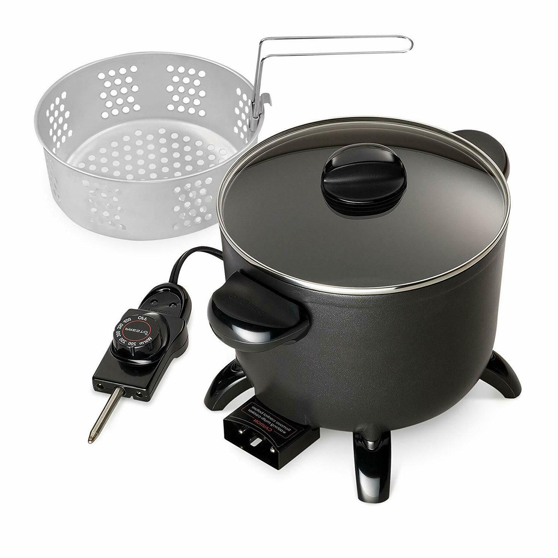 Presto Kitchen Kettle Electric Multi Roaster Deep Basket