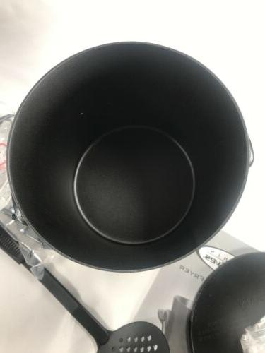 Kitchen Fryer Four Cup Model Compact Size NEW