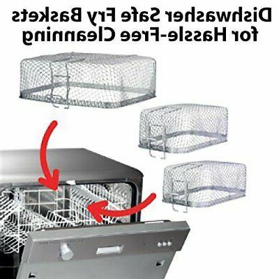 KRUPS KJ502D51 Fryer, Electric Deep Fryer,