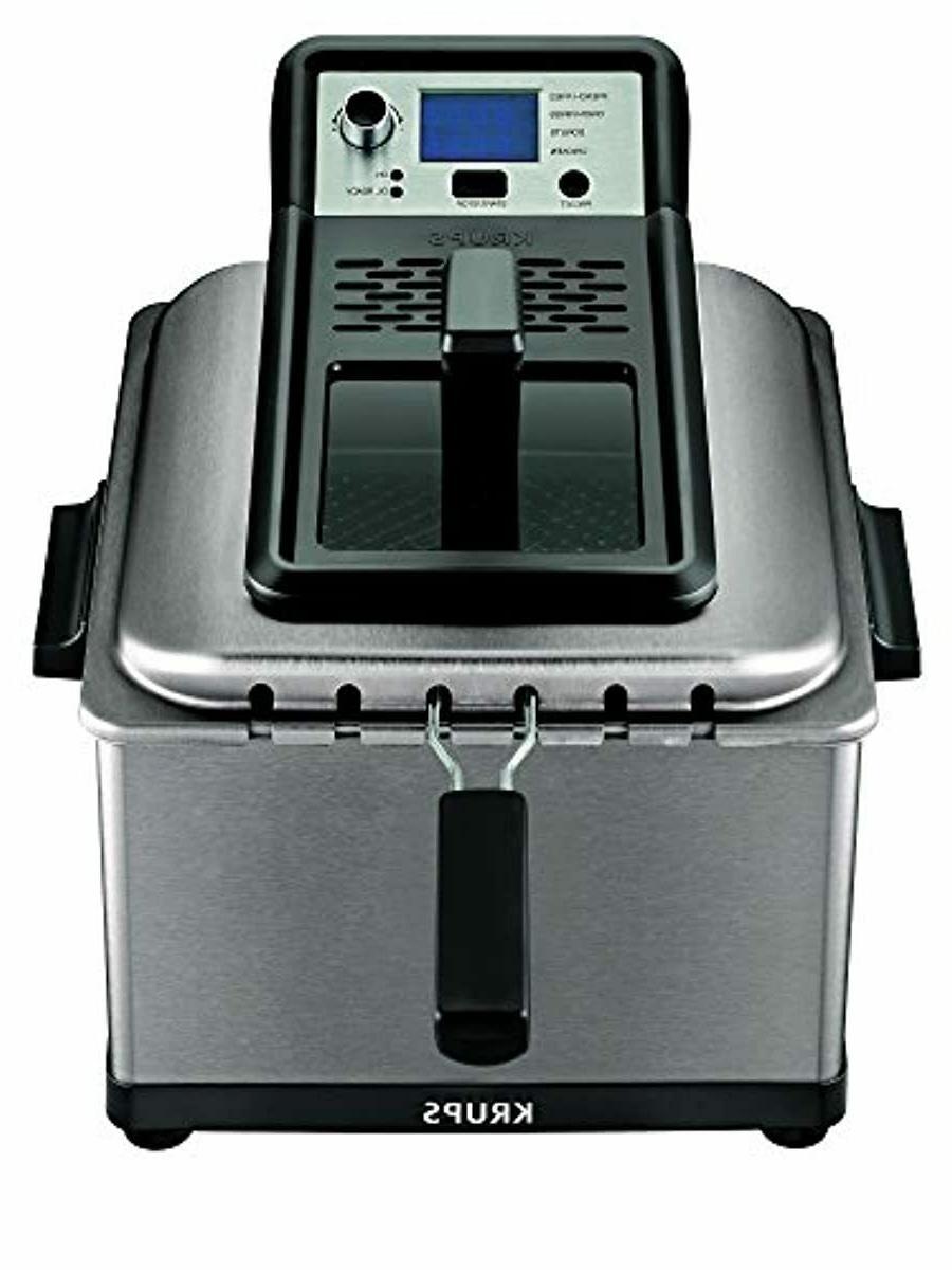 krups kj502d51 deep fryer electric deep fryer