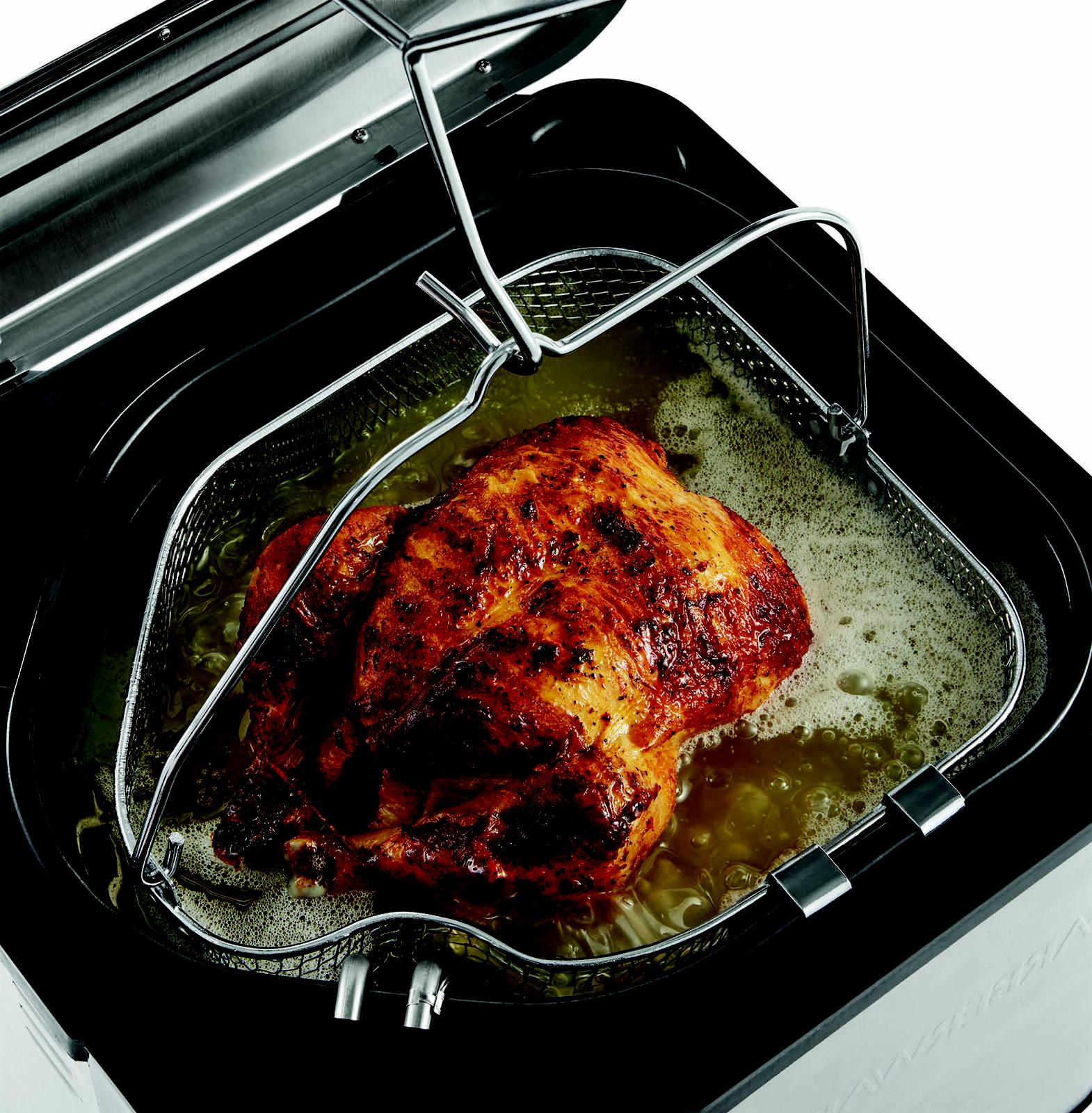 Large Butterball Turkey Indoor Electric Fryer Pot