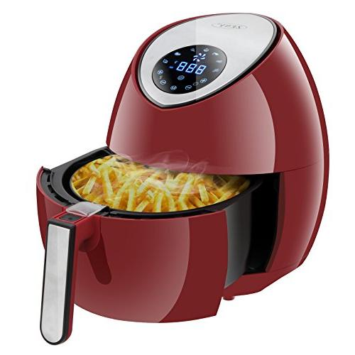 Zeny 3 7 Quarts 7 In 1 Electric Air Fryer Touch