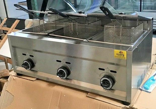 NEW 3 Deep Fryer Model and Top