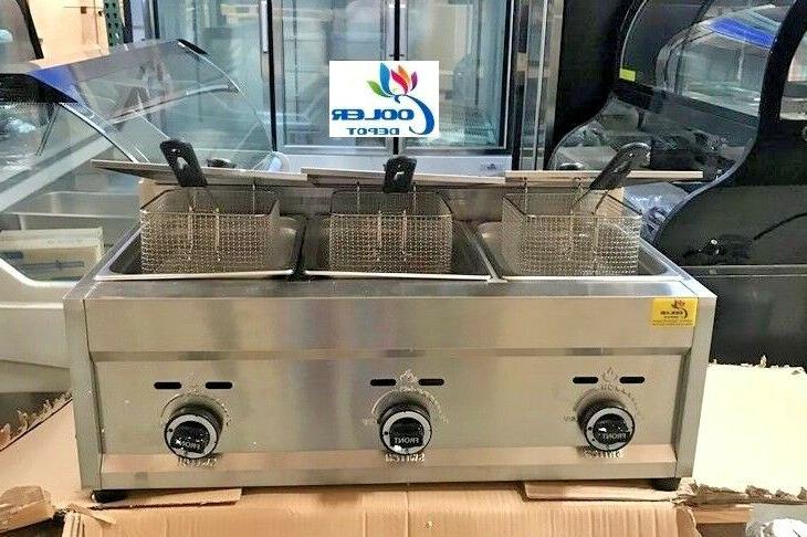 NEW Deep Fryer Model FY5 Propane and Top
