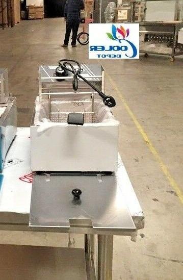 new 5 gallon electric deep fryer model