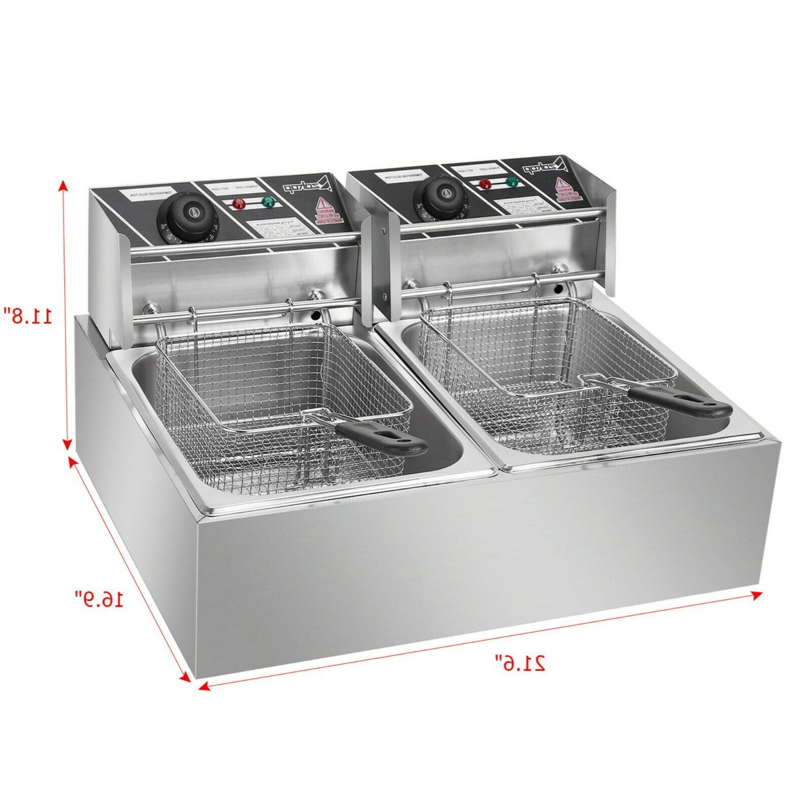 New Electric Deep Fryer Tank Commercial